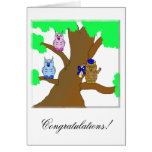 Wise Owl Greeting Card