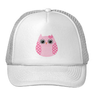Wise Owl Mesh Hats