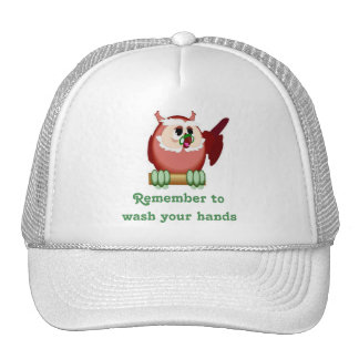 Wise Owl Mesh Hat