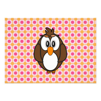 Wise Owl Personalized Announcements