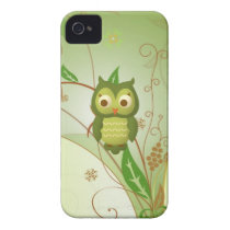 Wise Owl iPhone 4 Case-Mate Case