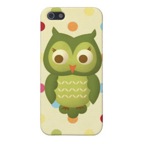 Wise Owl iPhone 5 Case