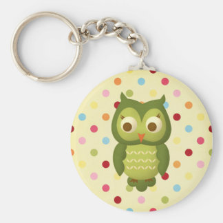 Wise Owl Key Chain