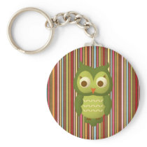 Wise Owl Keychain