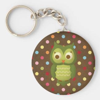 Wise Owl Keychains
