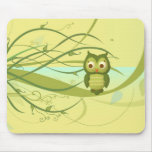 Wise Owl Mouse Pads