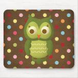 Wise Owl Mousepad