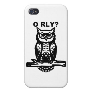 Wise Owl O RLY iPhone 4/4S Covers