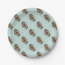 Wise Owl Paper Plate