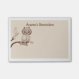 Wise Owl Post-it Notes Post-it® Notes