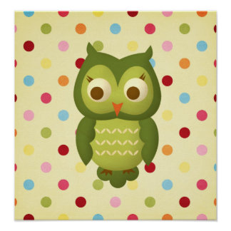 Wise Owl Print