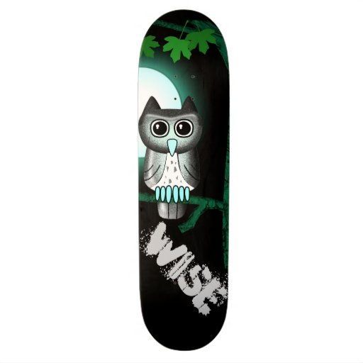 Wise Owl Skate Board