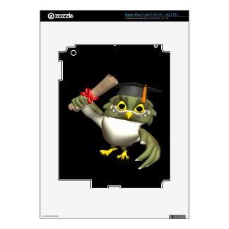 Wise Owl Skin For iPad 3