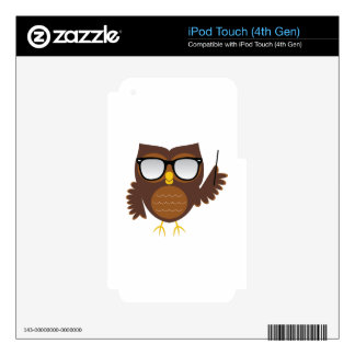 Wise Owl Skins For iPod Touch 4G