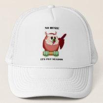 Wise Owl Speaks Trucker Hat