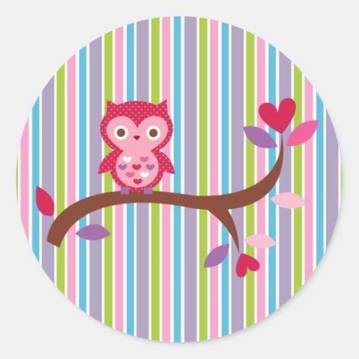 Wise Owl Sticker