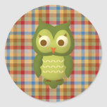 Wise Owl Stickers