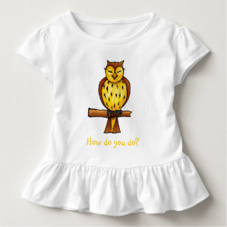 Wise owl - T-shirt template