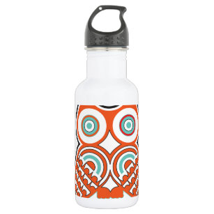 Wise owl water bottle