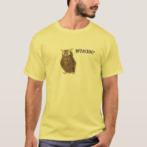 Wise Owl - Whom T-Shirt