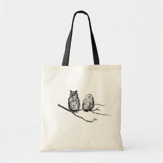 Wise Owls Budget Tote