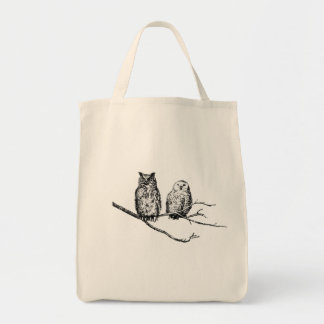 Wise Owls Organic Grocery Tote