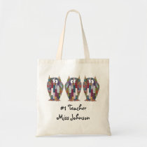 Wise Owls Teacher Tote