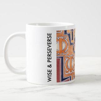 WISE & PERSEVERES GIANT COFFEE MUG