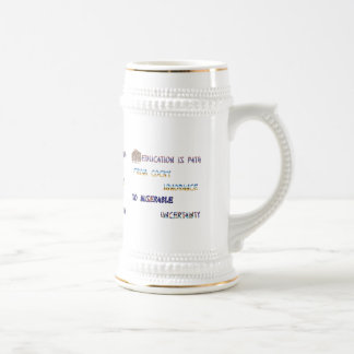Wise sayings beer stein