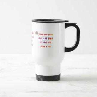 Wise sayings travel mug
