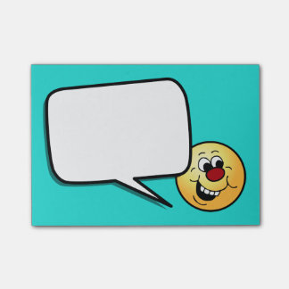 Wise Smiley Face Grumpey Post-it® Notes