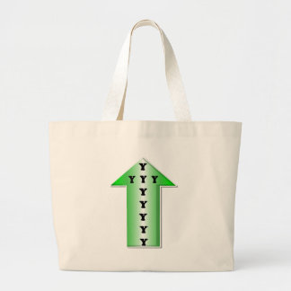 Wise Up! Large Tote Bag