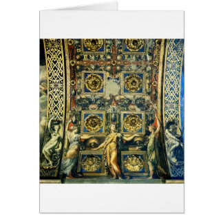 Wise Virgins Allegorical Figures And Plants Card