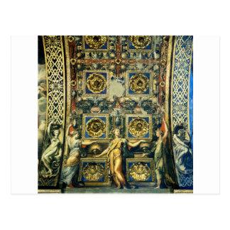 Wise Virgins Allegorical Figures And Plants Postcard