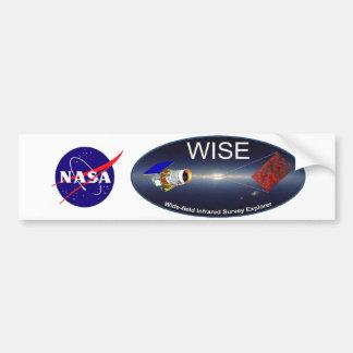 WISE – Wide Field Infrared Survey Explorer Bumper Sticker