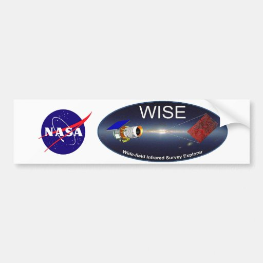 WISE – Wide Field Infrared Survey Explorer Bumper Stickers