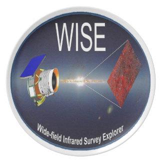 WISE – Wide Field Infrared Survey Explorer Melamine Plate