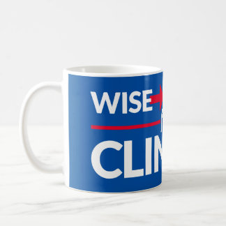 WISE WOMEN FOR CLINTON 11oz. Mug
