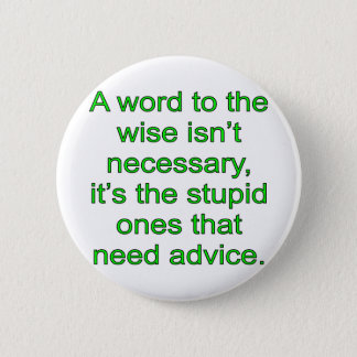 Wise Word Button