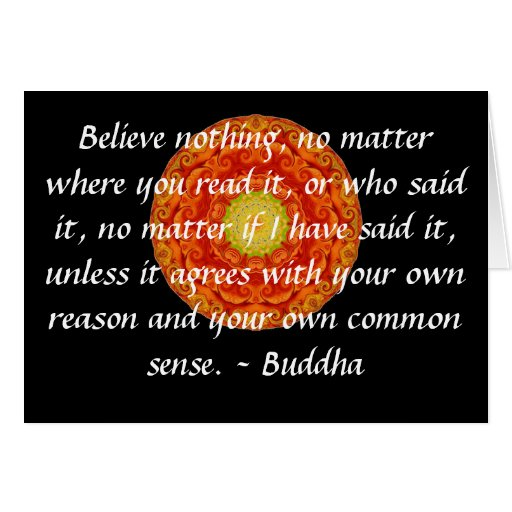 Buddha WisdomCard Words