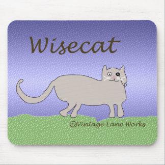 Wisecat Mouse Pad