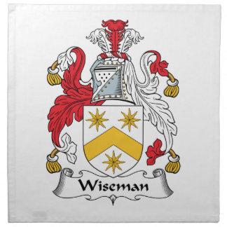Wiseman Family Crest Napkin