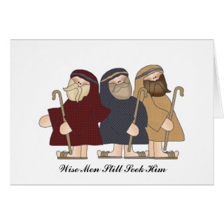 Wisemen Card