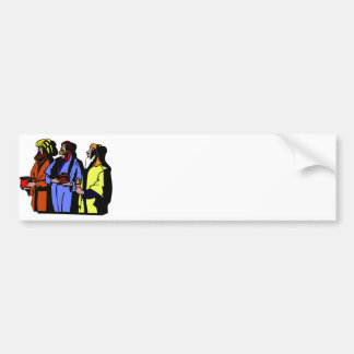 Wisemen Christian artwork Bumper Sticker