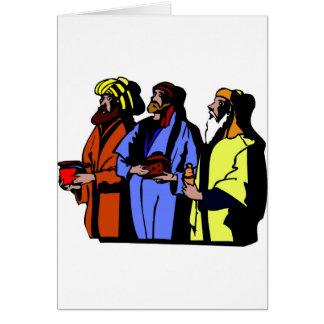 Wisemen Christian artwork Card