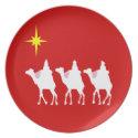 Wisemen Holiday Dish plate