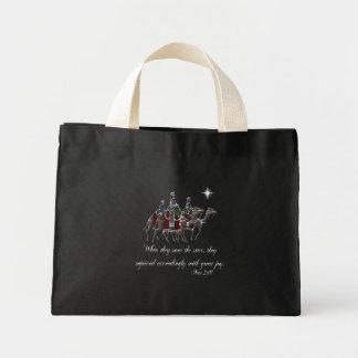 Wisemen/Mat 2:10 Mini Tote Bag