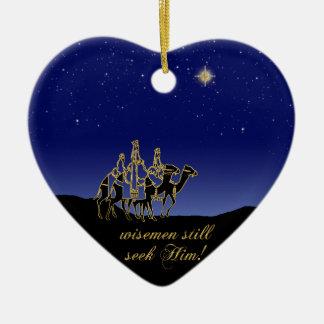 Wisemen Still Seek Him Christmas Ornament