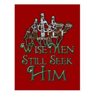 WiseMen todavía lo busca Postal