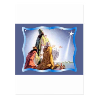 Wisemen, unos de los reyes magos postales